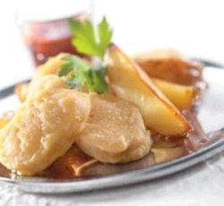 Prøv også Kyllingnuggets med stekte potetbåter og tomatsalsa.