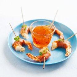 Prøv også Scampi med skinke(tapas).