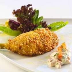Prøv også Stekte kyllinglår med avokadosalat.