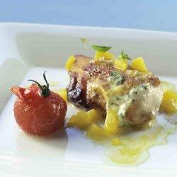 Prøv også Kyllingbryst med appelsin og basilikum.