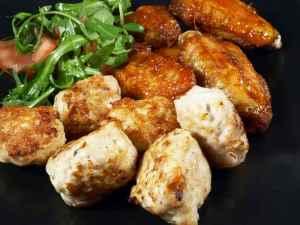Prøv også Fat med kyllingvinger og kyllingboller.