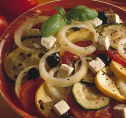 Prøv også Salat a la greque.
