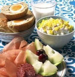 Prøv også Mimosa salat og innbakte egg.