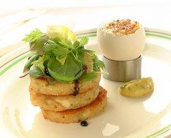 Prøv også Farniette- kyllingtoast med egg og salat.