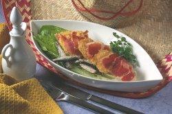 Prøv også Cæsarsalat med parmesanchips og skinke.