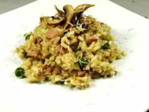Prøv også Risotto med sopp og kjøttdeig.