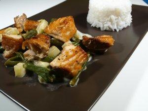 Prøv også Amerikansk wok.