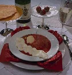 Prøv også Lun jordbærsuppe med grønn pepper.