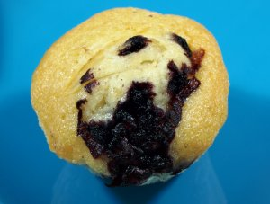 Prøv også Blåbær Yoghurt Muffins.