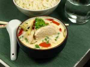 Prøv også Thailandsk kyllingsuppe med kokosmelk(Tom Kha Gai.