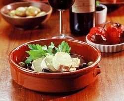 Prøv også Marinert ost og oliven (Tapas).
