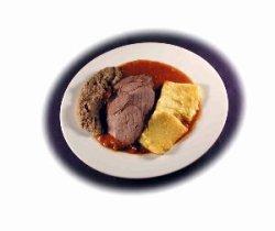 Prøv også Elgstek med polenta og linsepurè.