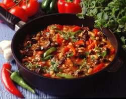 Chili con carne med hval oppskrift.
