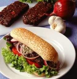 Hvalburger oppskrift.