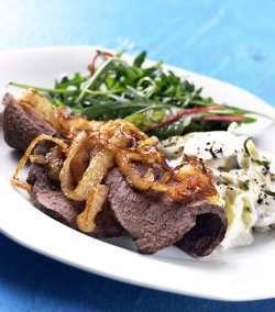 Prøv også Marinert roastbiff av hval.