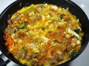 Prøv også Grønnsakpanne med egg.