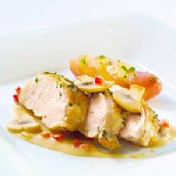 Prøv også Kyllingfilet med smakfull saus.