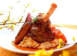 Prøv også Braissert og langkokte lammeskanker - med rotselleripure.
