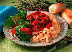 Prøv også Lam og pasta med tomatsaus.