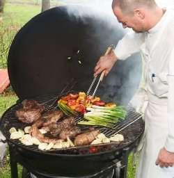 Prøv også Grillet lammesteik med soltørket tomat og mynte.