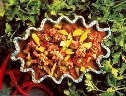 Prøv også Lam med selleri og chili.