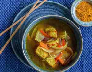 Suppegryte med asiatisk smak oppskrift.