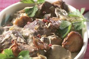 Prøv også Lammesauté med kantareller.
