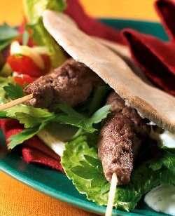 Prøv også Lammekebab i pita.