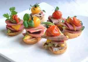 Prøv også Bruschetta med lammerull(tapas).