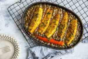 Prøv også Grillet ananas med romsaus.