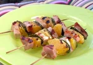 Prøv også Grillspyd med sommerkotelett og appelsin.