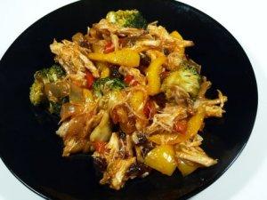 Prøv også Kylling med basilikum og broccoli.