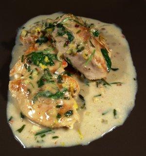 Pr�v ogs� Kylling med sitrongress.