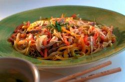 Prøv også Wok med svinekjøtt, eplemos og chili.