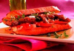 Prøv også Biffsandwich med tomatsalat.