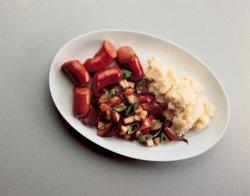 Prøv også Karriwurst med epler.