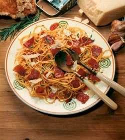 Prøv også Spagetti carbonara.