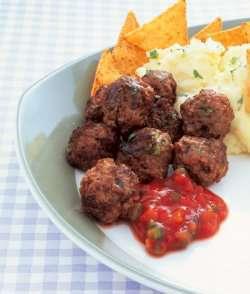 Prøv også Kjøttboller med salsa og potetmos.