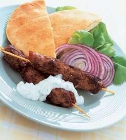 Prøv også Kebab i pitabrød.