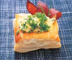 Prøv også Butterdeigskurv fylt med eggerøre.