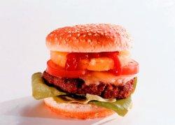 Dino-burger oppskrift.