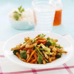 Prøv også Chiliwok med renskåret svinekjøtt.