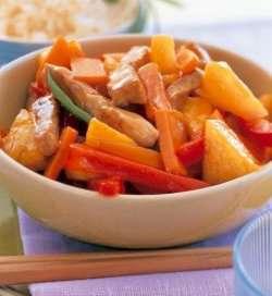 Prøv også Svinekjøtt i sursøt saus 3.
