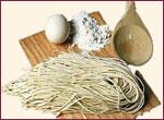 Bilde av Spekeskinke og pasta.