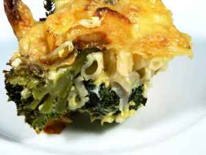 Prøv også Pølseform med brokkoli.