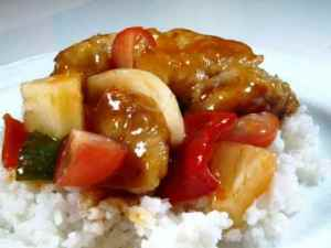 Prøv også Svinefilet i sur/søt saus.