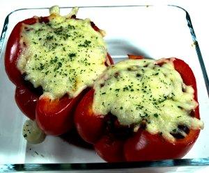 Prøv også Fylte paprika med kjøttdeig.