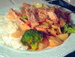 Prøv også Kylling i wok med broccoli.