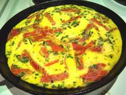 Pr�v ogs� Omelett 3.
