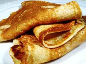 Prøv også Tynne pannekaker.